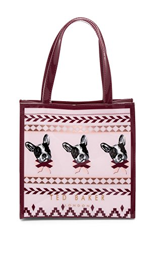 Ted Baker Anscon Bull Dog Fairisle Small Icon Tote Bag by Ted Baker