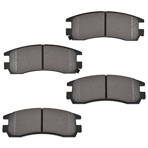 Chevy Lumina Brake - Rear Posi Metallic Brake Pad Set for Buick LeSabre Park Avenue Cadillac Deville Eldorado Chevy Lumina Monte Carlo Oldsmobile Aurora Pontiac Bonneville