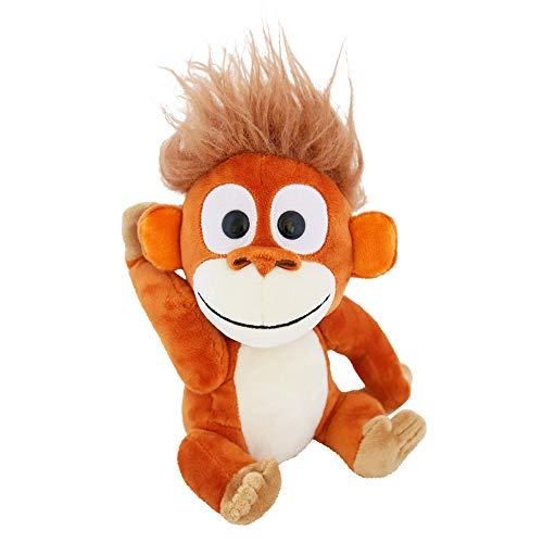 Animoodles Magnetic Randy Orangutan Stuffed Animal Plush, 7.5