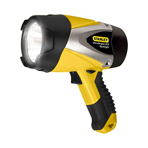 STANLEY SL5W09 Rechargeable 192 Lumen Lithium Ion Ultra Bright LED Spotlight Flashlight -