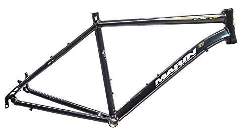 15'' Marin Sausalito 700c Hybrid Road Alloy Bike Frame Disc Black Metallic NEW by Marin