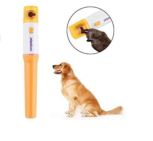 [1Pcs Pet Nail Grooming Care Grinder Trimmer Clipper File Tools Electric Grooming for Dog Cats Finger] (Axolotl Costume)