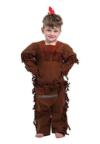 Little Boys' Toddler Indian Costume 18 Months - Little Indian Toddler Costumes