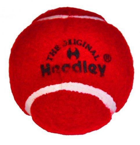 (Headley Cricket Tennis Balls Red (Pack of 6))