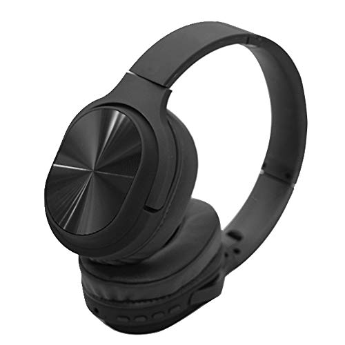 Bluetooth Headphones Over Ear, On Ear Headphones Wireless with 15 Hours Play Time, EQ Mode, with microphone, Aux in