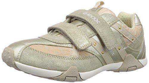 Geox JR TALE B - zapatilla deportiva de piel niña dorado - Gold (LT GOLDC2012)