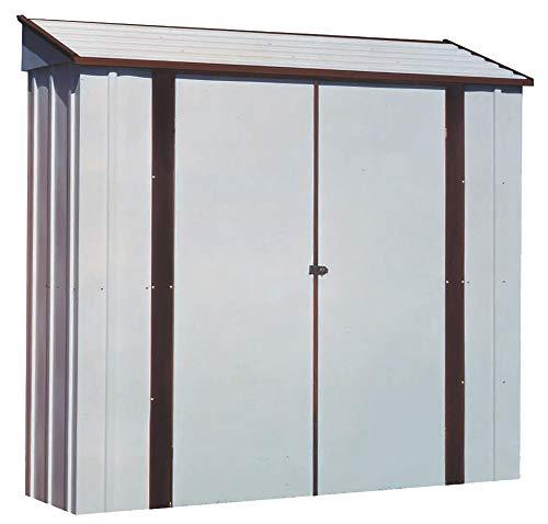 - Arrow Sheds CL72 7-Feet by 2-Feet Steel Storage Locker
