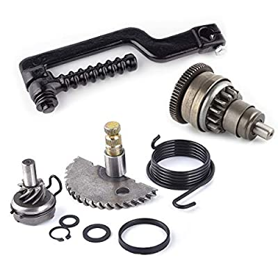 Start Gear + Start Clutch + Kick Pedal Kit for GY6 49cc 50cc 139qmb Scooters Moped Roketa Taotao Jonway: Automotive