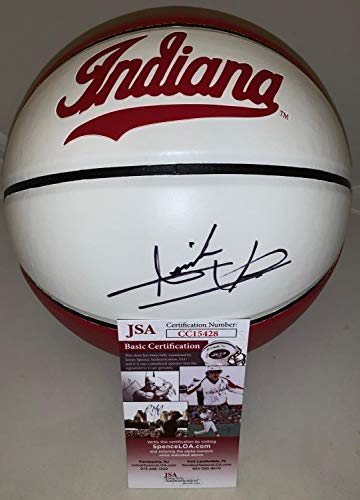 Isiah Thomas Detroit Pistons Autographed Signed Memorabilia Indiana Hoosiers Full Size Basketball Ball Hof - JSA Authentic