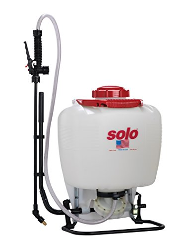 Diaphragm Sprayer - Solo 475-B-DELUXE Professional Diaphragm Pump Backpack Sprayer, 4-Gallon, Bleach Resistant Pump Assembly
