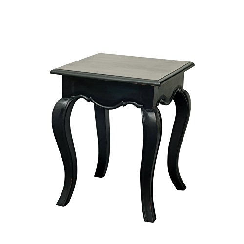 NES Furniture Nes Fine Handcrafted Furniture Solid Mahogany Wood Sandra Side / End Table - 22