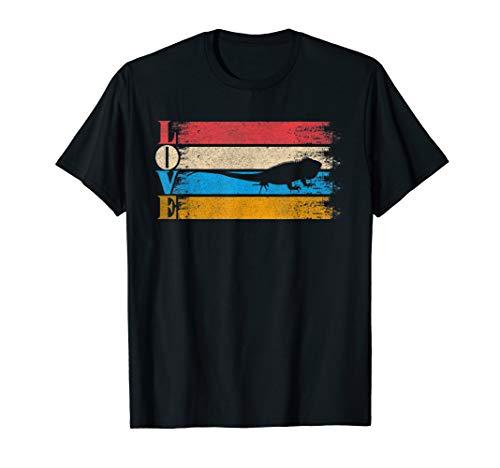 (Vintage Love Iguana T-Shirt Retro Iguana Gifts)