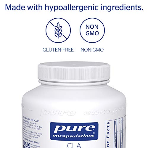 Pure Encapsulations - CLA (Conjugated Linoleic Acid) 1,000 mg - Promotes Healthy Body Composition with Healthy Diet and Exercise* - 180 Softgel Capsules by Pure Encapsulations (Image #3)