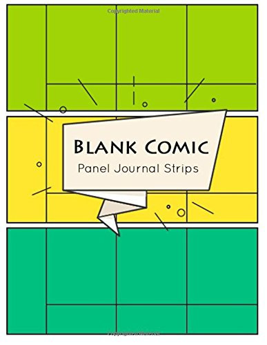 Blank Comic Panel Journal Strips: Comic Panel Book Strip, Comic Book Drawing, Design Sketchbook Journal, Artists Notebook, Blank Book Strips Cartoon, Templates 21 Panel pdf