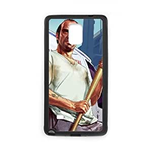 Samsung Galaxy Note 4 Cell Phone Case Black Grand Theft Auto V Wzyuf