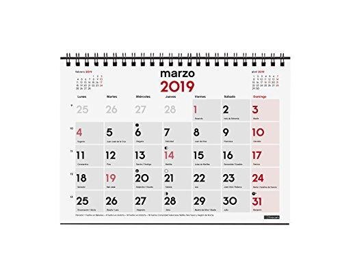 Calendario Con Semanas 2019 Chile.Calendario 2019 Por Meses