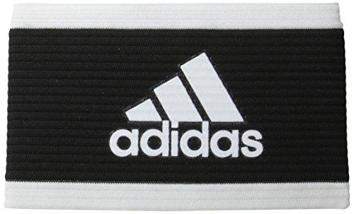 adidas Captains Armband Black White product image