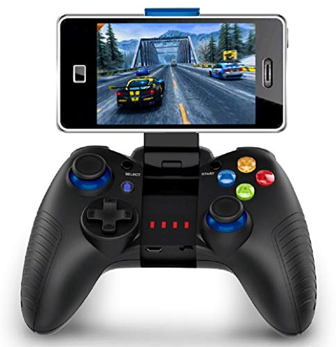Mobile Game Controller, PowerLead PG8710 Gaming Controller Bluetooth 4.0 Wireless Gamepad Perfect for PUBG & Fotnite & More, Support iOS Android iPhone iPad Samsung Galaxy (The Walking Dead Last Day On Earth)