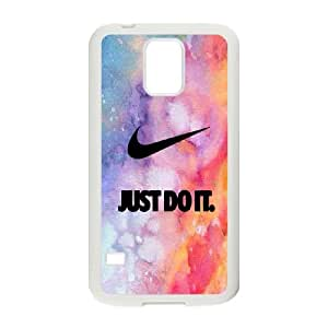 Just Do It Samsung Galaxy S5 Cell Phone Case White MUS9223163