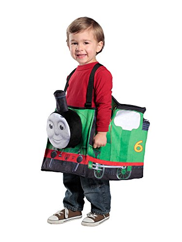 Princess Paradise Percy Ride-in Train Costume, Green, Child ()