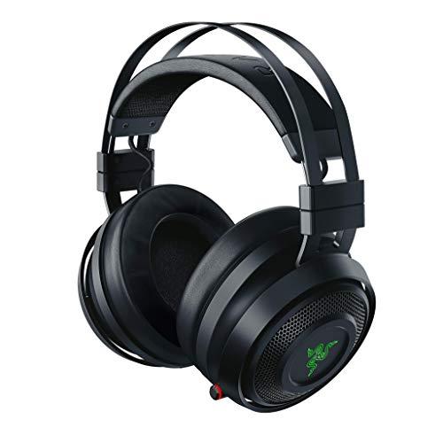 Razer Nari – Wireless Gaming Headset (Kabellose Kopfhörer, Tragekomfort ohne Kompromisse, 16 Stunden Akku-Laufzeit, THX Spatial Audio & RGB Chroma Beleuchtung für PC, PS4 & Switch)
