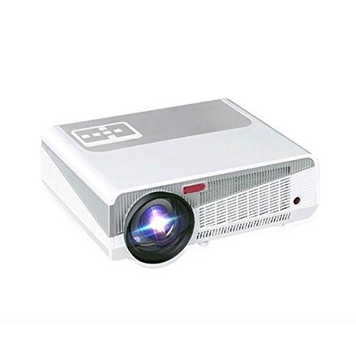 フルHD 1080P ledプロジェクターLCD 3000Lumen 1280x800 LEDフルHD LCDホームビデオusb映画館劇場プロジェクターテレビビーマープロジェクター1080pビデオゲームプロジェクター B077718RZN