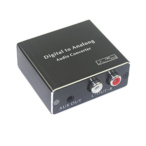 Find Cheap BSTUOKEY Mini Digital to Analog Audio Converter SPDIF Toslink COAX RCA to Analog Stereo A...