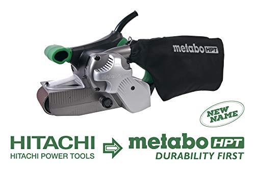 Metabo HPT Belt Sander, Variable Speed, 3-Inch x 21-Inch V-Belt, 9.0 Amp - 1020W Motor, Soft Elastomer Grip, 5-Year Warranty (SB8V2)