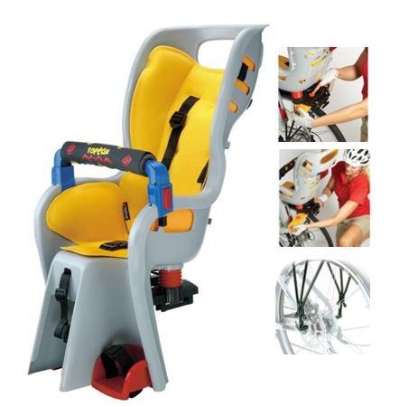 Topeak Baby Sitter II Bike Seat with Alloy Rack w/Disc Rack - TCS2202
