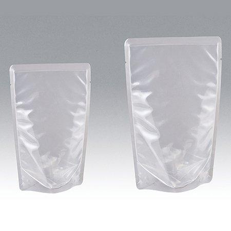 明和産商 BRS-1218 S 120×180+34 2000枚入 透明レトルト用(120℃)スタンド袋 B077NBMXS6  幅120×高さ180+34mm