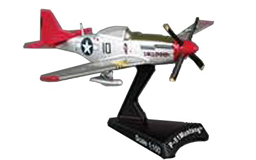 Daron Worldwide Trading P-51 Mustang Tuskegee 1:100 - P-51 Airplane