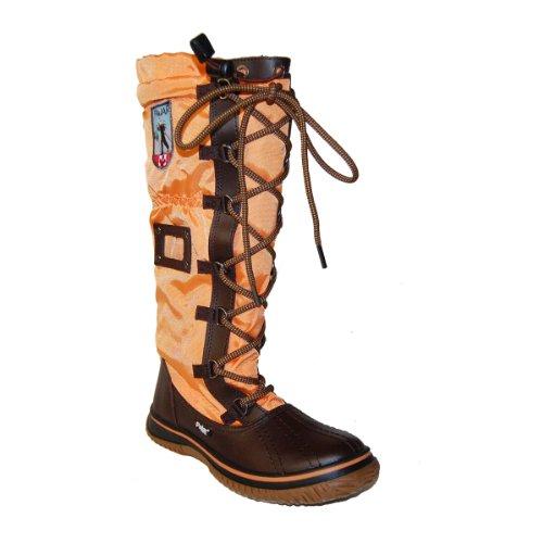 Pajar Kvinnor Grepp Boot Brun / Orange