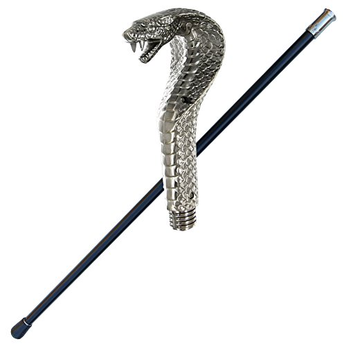 Snake Charmer King Cobra Walking Cane -