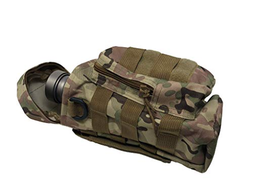 Valtcan Tactical Molle Bags Water Bottle, Mobile Phone, and Camping Hiking Pouches 3 Pack Set by Valtcan (Image #4)