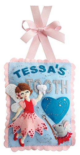 Felt Tooth - Tooth Fairy Pillow Felt Applique Kit