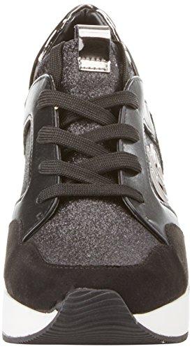 Byblos Dames Running Glam Zwarte Sneaker