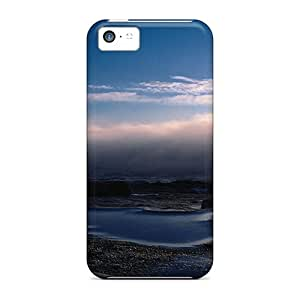 Durable Protector Case Cover With Dark Dawn Hot Design For Iphone 5c