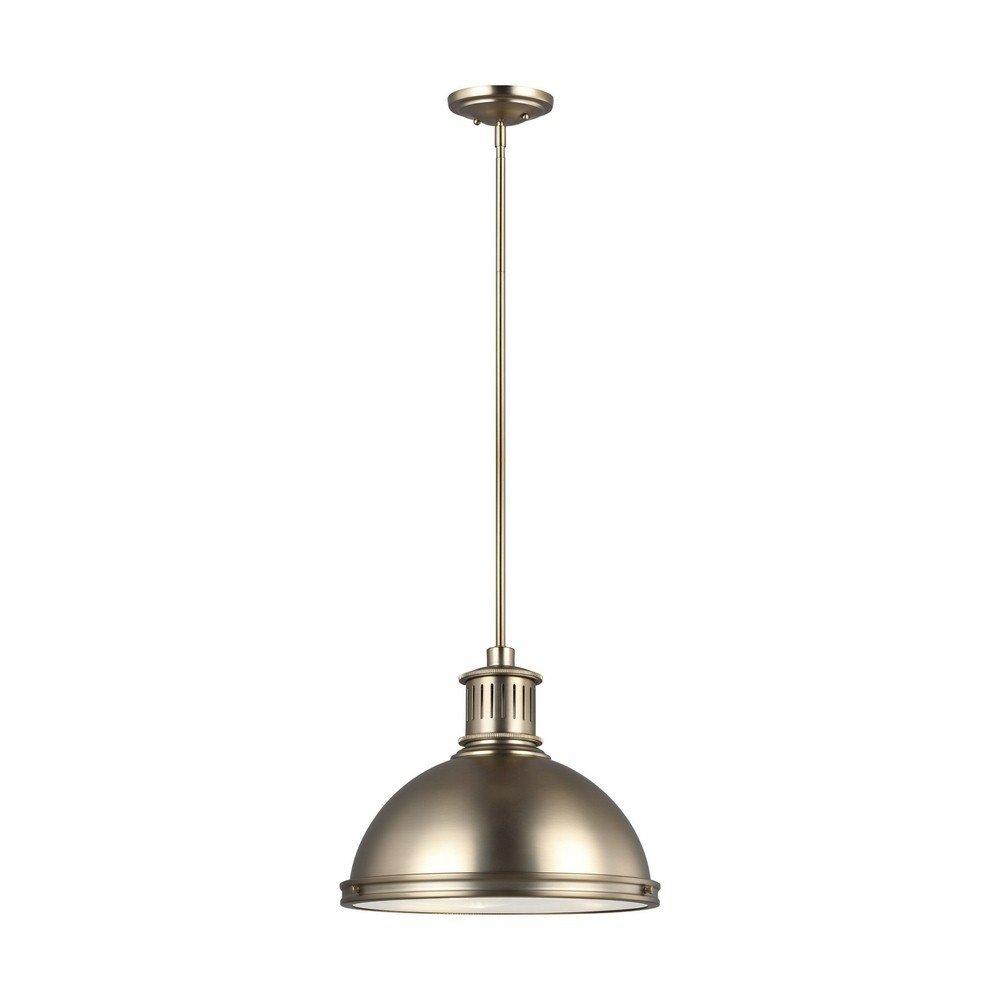Sea Gull Lighting 65087-848 Three Light Pendant Satin Bronze