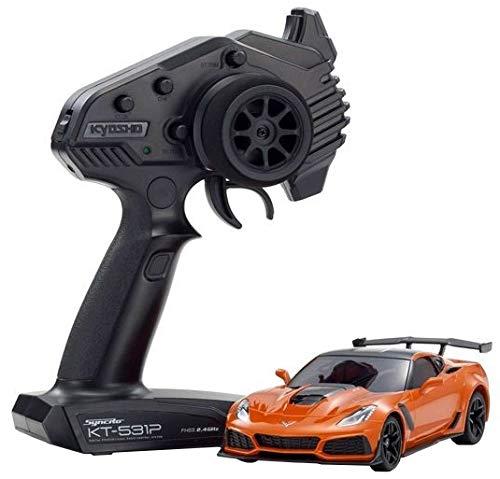 京商 ラジオコントロール 電動ツーリングカー ミニッツRWDシリーズ レディセット シボレーコルベット ZR1 オレンジ 32334OR B07RBFL344