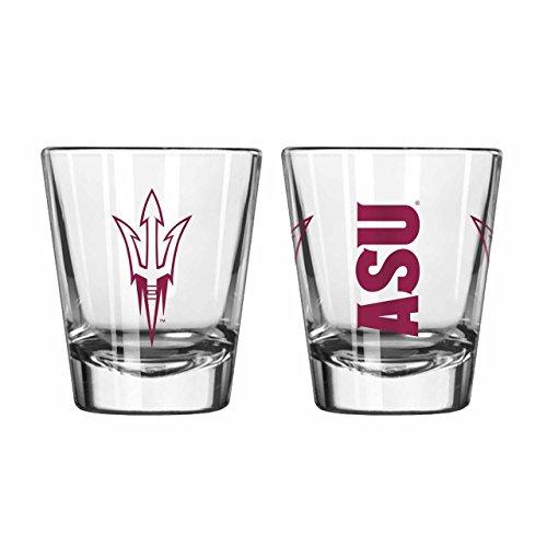 Boelter Arizona State Sun Devils 2oz NCAA Gameday Shot Glass - Clear,