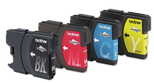 Brother LC 61 MFC 5490CN MFC 5890CN MFC 6890CDW