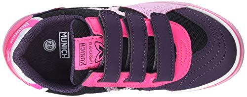 Fitness 3 899 Ice Vco Rose Mixte De Enfant rosa G negro Chaussures Munich CFnwaqx