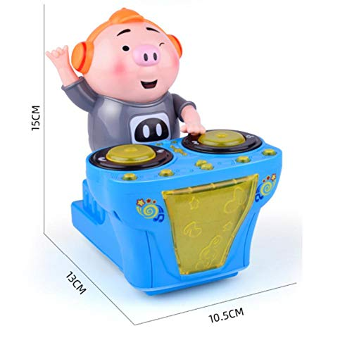 Zahuoo Child Early Education Toys DJ Electric Music Toys Funny Pig Funny  Music for Children Music Kids Toys Gift