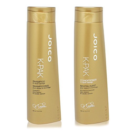 Joico K Pak Shampoo and Conditioner KIT for Repair Damage, Shampoo 10.1 oz, Conditioner 10.1 oz
