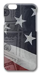 American Money15 Polycarbonate Hard Case Cover for iphone 6 plus 5.5 inch 3D