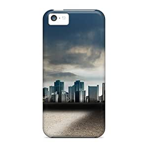 Darkening City Case Compatible With Iphone 5c/ Hot Protection Case