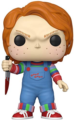 Funko- Pop Movies Chucky-10 Chucky Figura Coleccionable, Multicolor (49002)