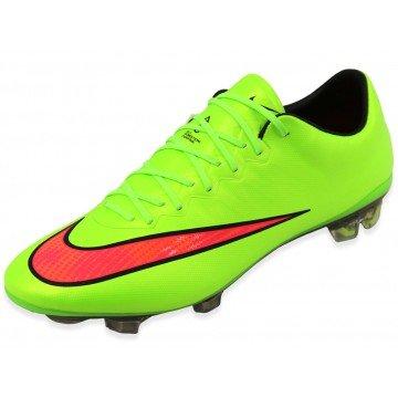 NIKE MEN'S MERCURIAL VAPOR X FG ELECTRIC GREEN/VOLT (Nike Mercurial Vapor Green)