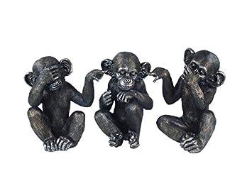 Sg Figuren 3 Affen Der Weisheit Nichts Gesehen Nichts Gesagt Nichts
