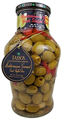 Tassos Mediterranean Gourmet Greek Olives - 70 Oz from Tassos